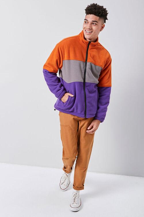 Fleece Colorblock Jacket, image 4