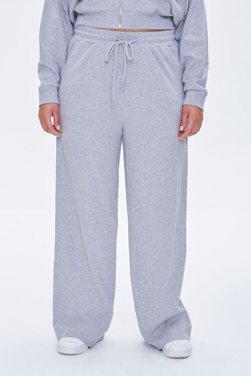 Plus Size Straight-Leg Sweatpants, image 2