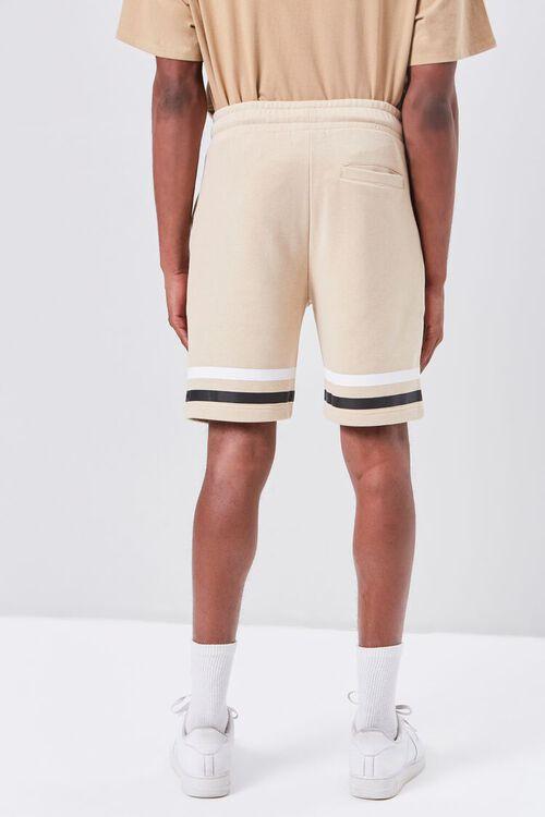 Striped-Trim Drawstring Shorts, image 4