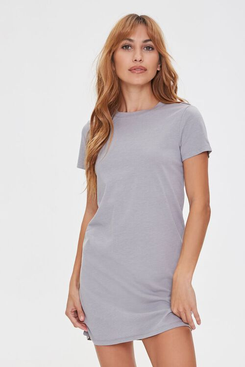 Crew Neck T-Shirt Dress, image 1
