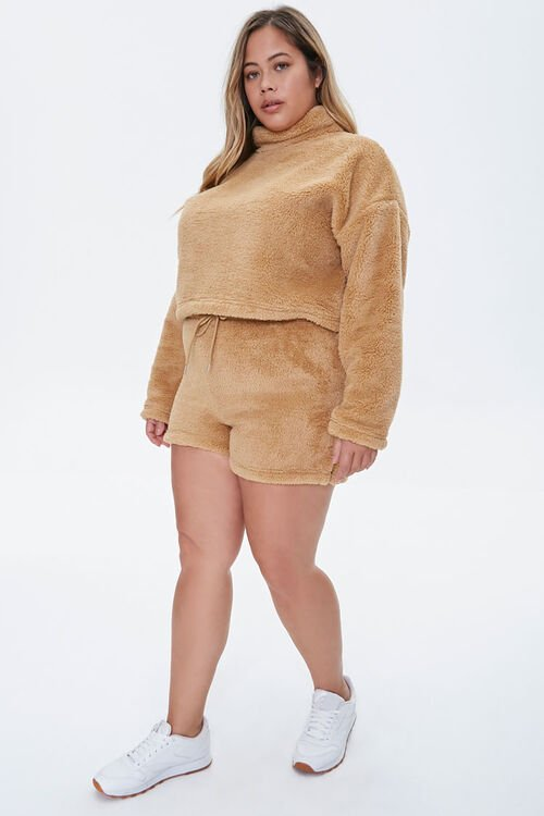 Plus Size Fuzzy Pullover, image 4