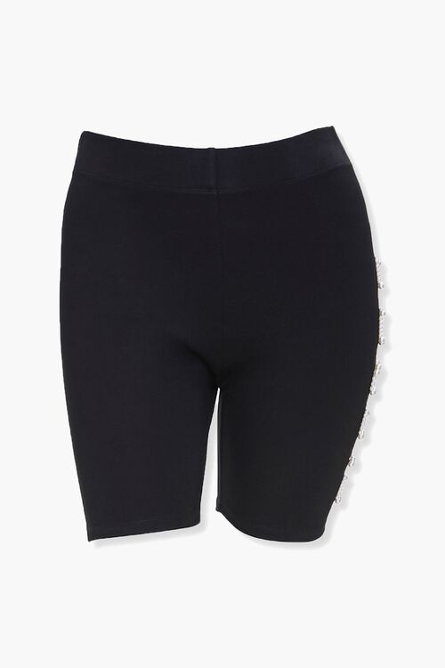 Plus Size Fierce Biker Shorts, image 2