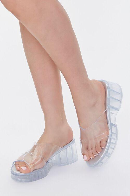 Jelly Platform Sandals, image 1