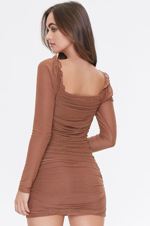 Ruched Bodycon Dress, image 3