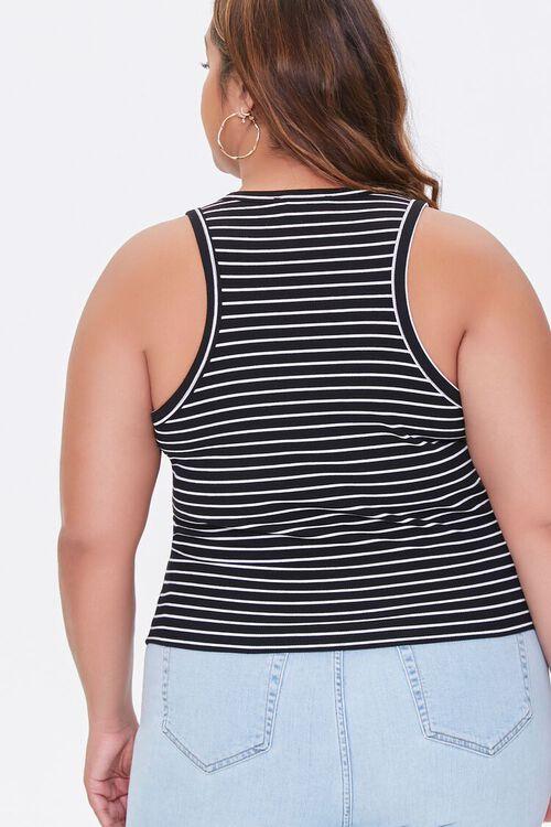 Plus Size Striped Tank Top, image 3