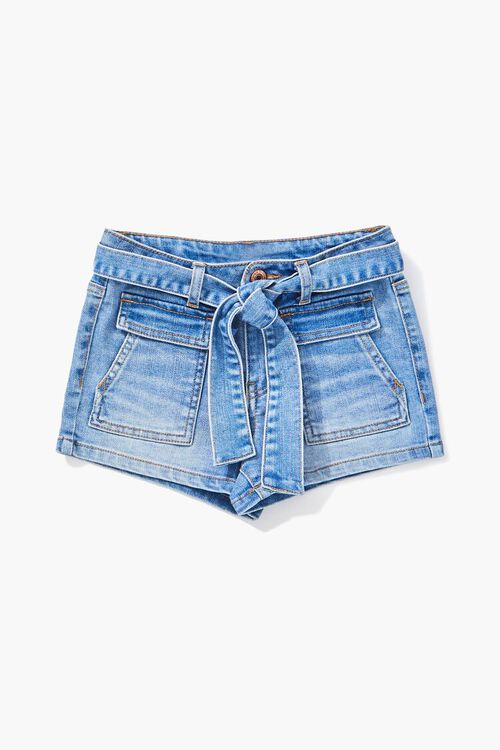 Girls Denim Shorts (Kids), image 1
