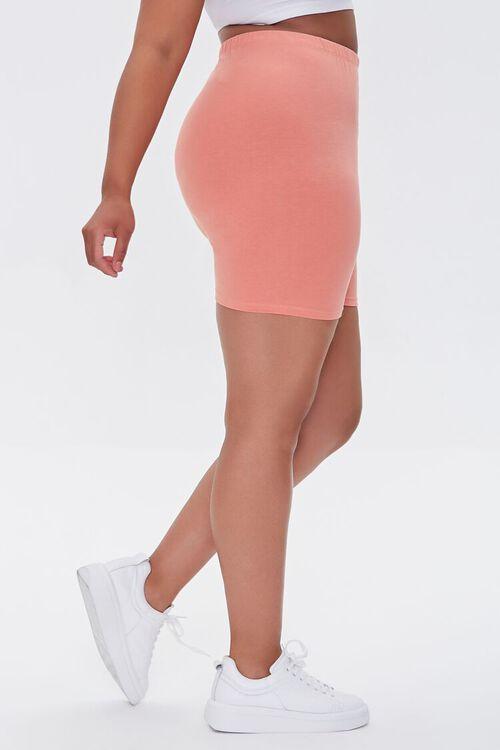 Plus Size Basic Biker Shorts, image 3