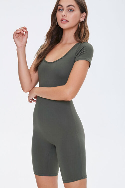 Scoop Neck Romper, image 1