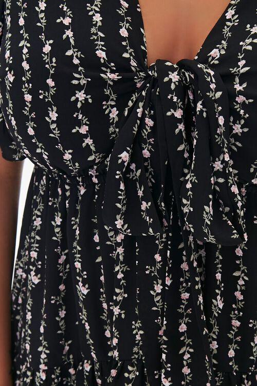 Plus Size Floral Print Mini Dress, image 5