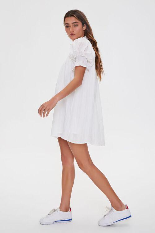 Ruffled Puff Sleeve Dress, image 2