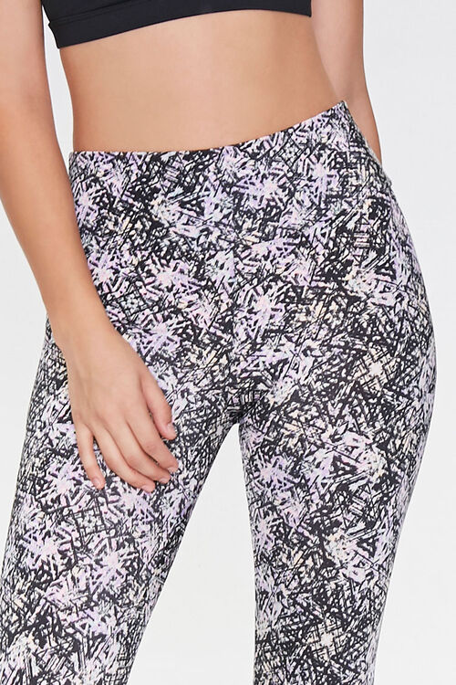Active Abstract Print Leggings, image 4
