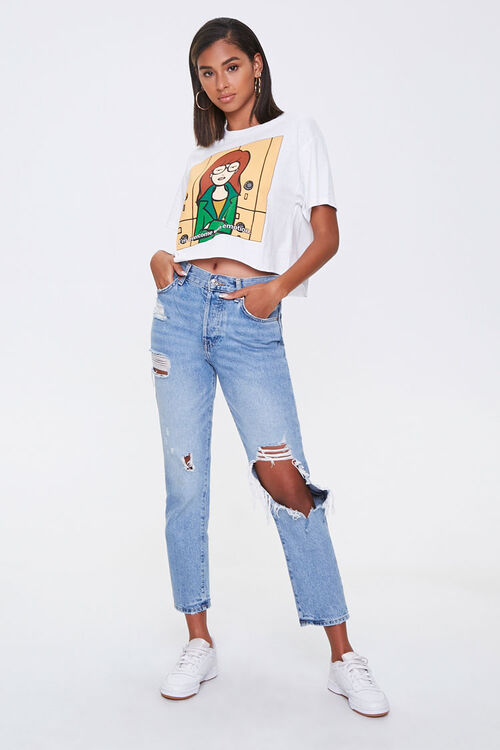 Daria Graphic Cropped Tee, image 4