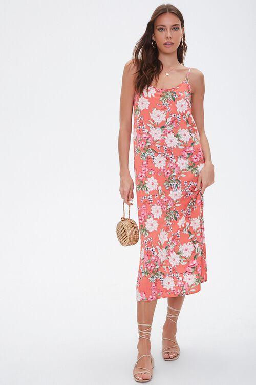Floral Print Cami Maxi Dress, image 4