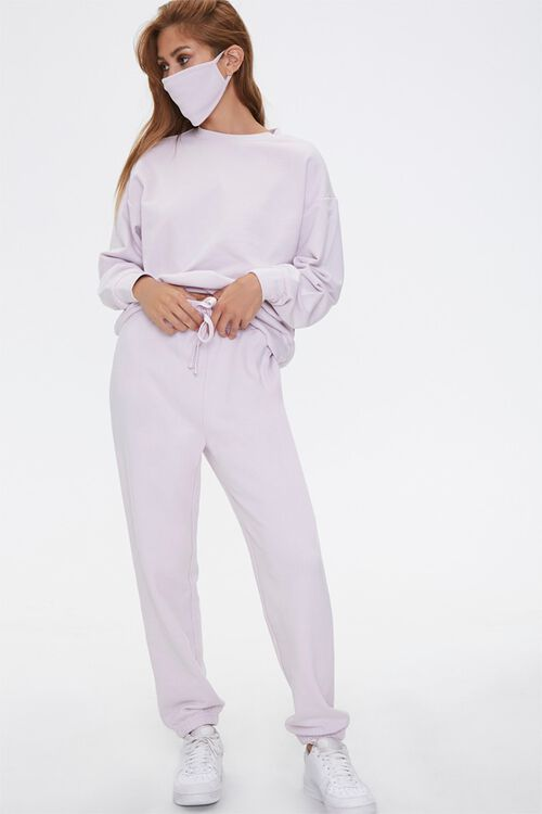 French Terry Drawstring Sweatpants, image 1