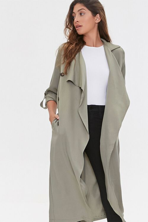Chambray Duster Jacket, image 2