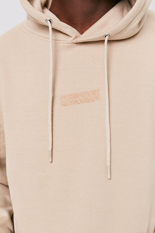 Permanent Retrograde Embroidered Graphic Hoodie, image 5