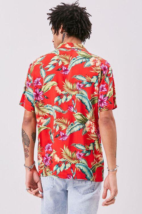 Classic Fit Tropical Print Shirt, image 3