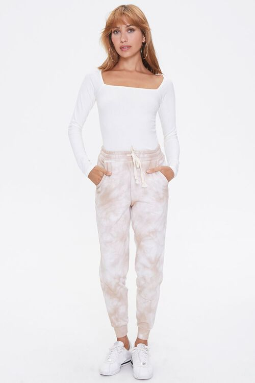 Cloud Wash French Terry Joggers, image 1