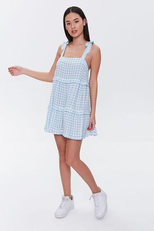Gingham Mini Dress, image 4