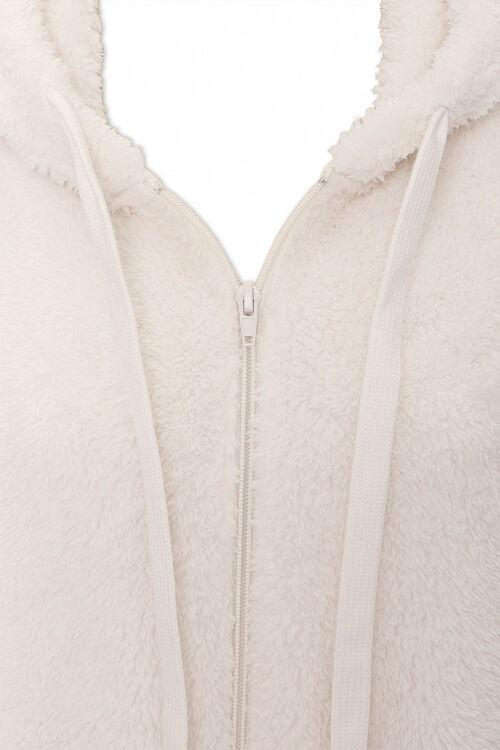 Plush Zip-Up Hoodie, image 4