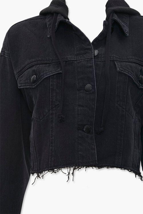 Denim Hooded Jacket, image 4