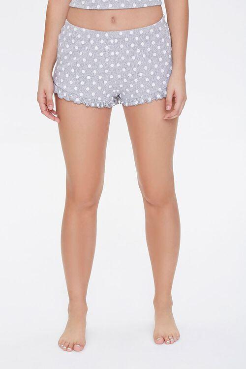 Polka Dot Pajama Shorts, image 2