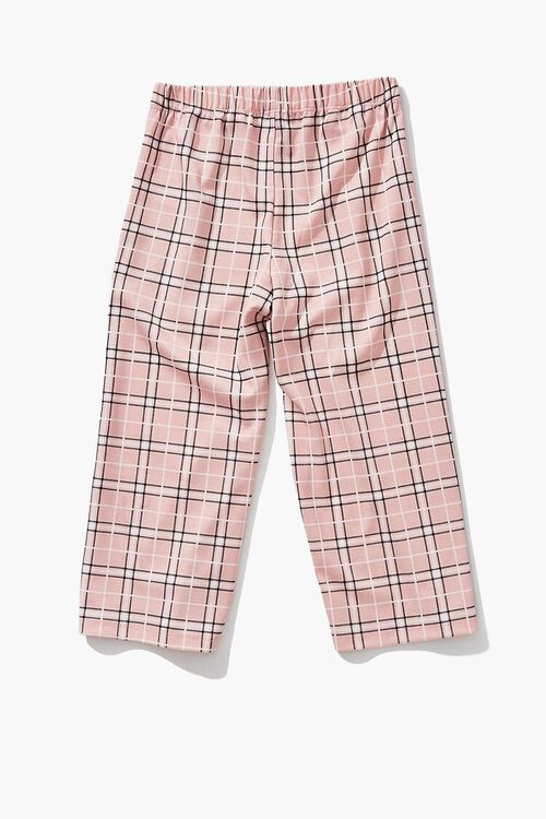 Girls Plaid Ankle Pants (Kids), image 2