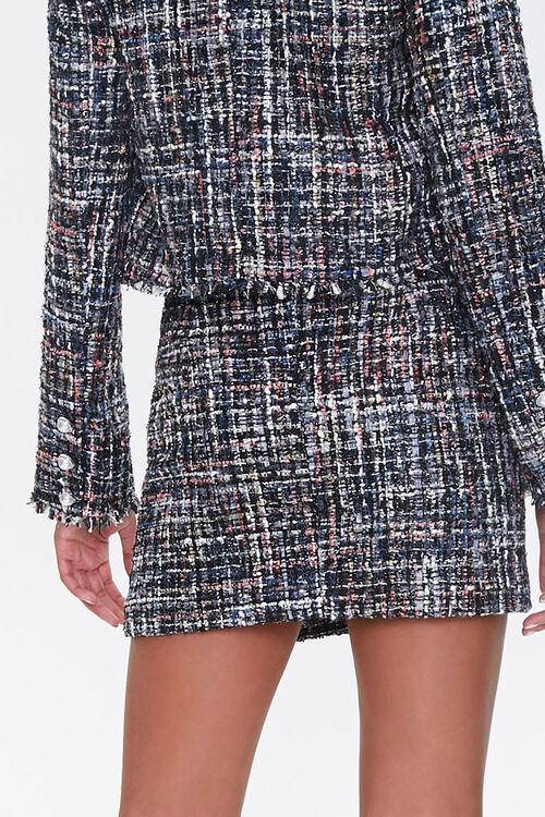 Frayed Tweed Mini Skirt, image 3