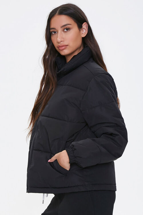 Quilted Puffer Jacket, image 2