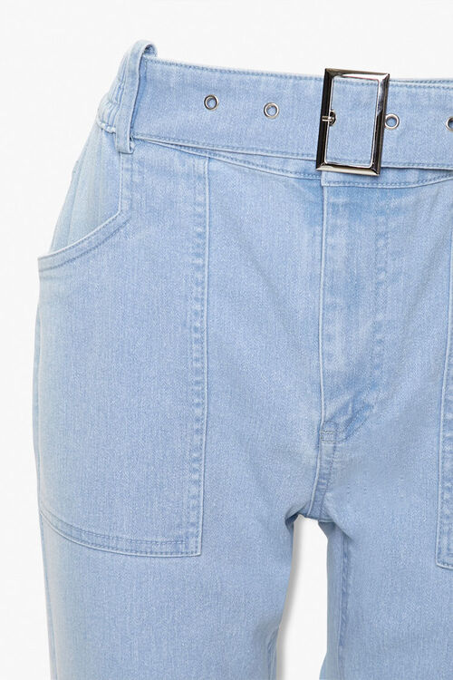 Belted Ankle Jeans, image 4