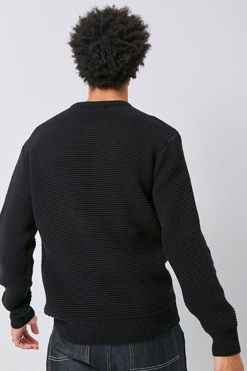 Ribbed Long Sleeve Sweater, image 3