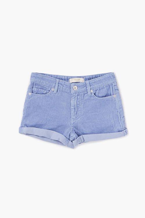 Girls Cuffed Corduroy Shorts (Kids), image 1