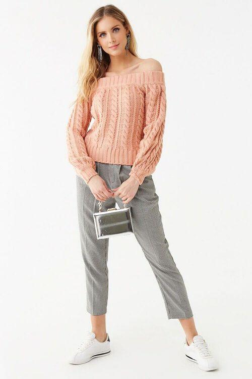 Off-the-Shoulder Sweater, image 4