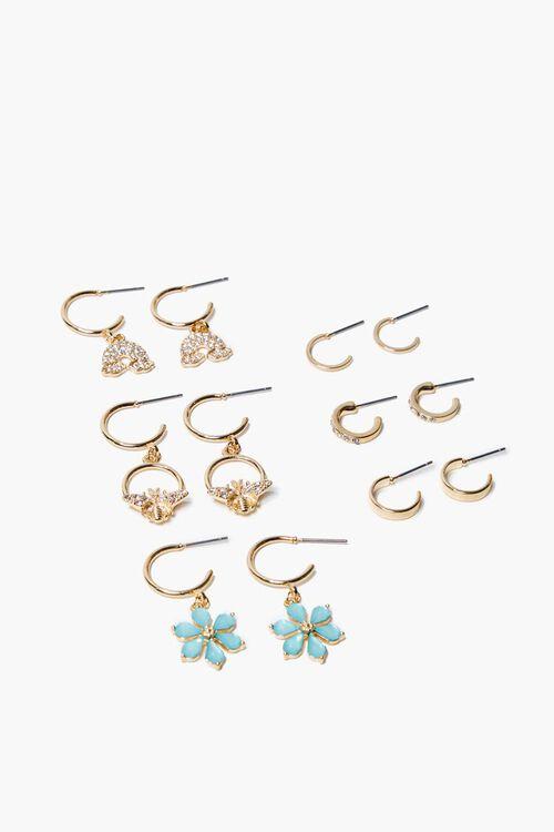 Assorted Hoop & Drop Earring Set, image 1