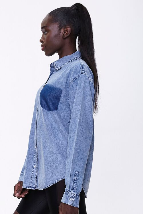 Mineral Wash Denim Shirt, image 2