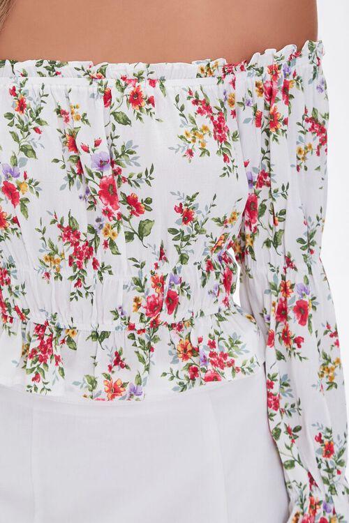 Floral Off-the-Shoulder Top, image 5