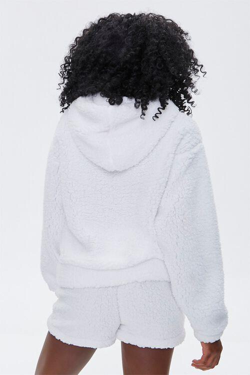 Faux Shearling Barbie™ Hoodie, image 3