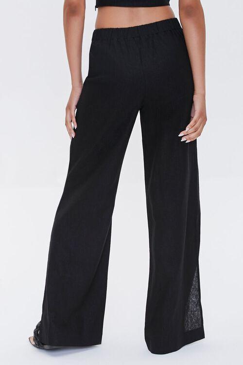 Linen-Blend Wide-Leg Pants, image 4