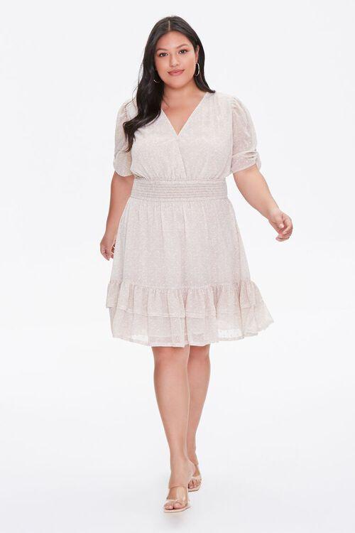 Plus Size Floral Flounce Dress, image 4