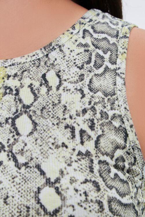 Plus Size Snakeskin Print Bodycon Dress, image 5
