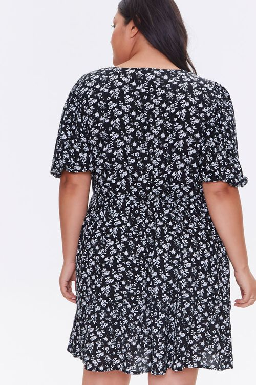 Plus Size Floral Print Dress, image 3