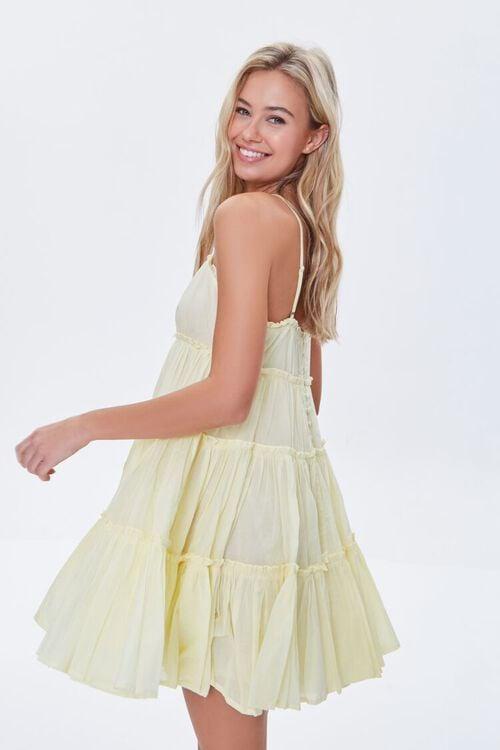 Tiered Fit & Flare Mini Dress, image 2