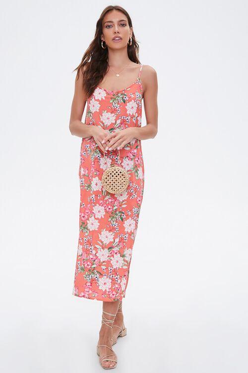 Floral Print Cami Maxi Dress, image 1