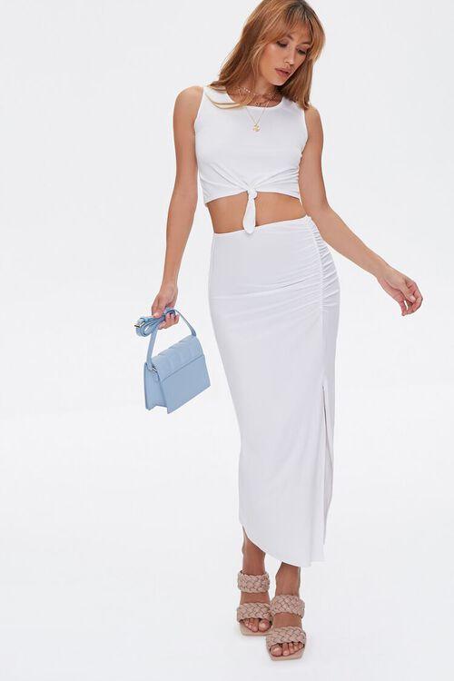 Crop Top & Midi Skirt Set, image 6