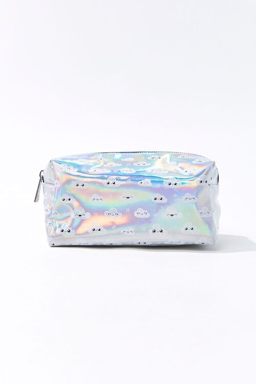 Iridescent Cloud Makeup Bag, image 1