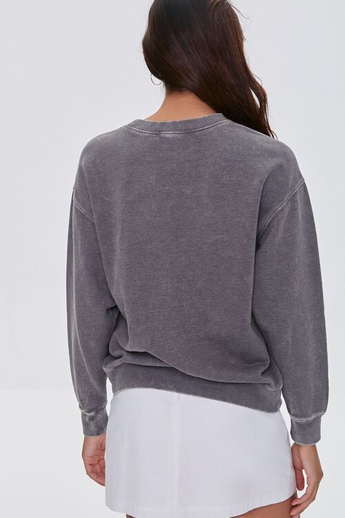 CHARCOAL/WHITE Grand Teton Graphic Pullover, image 3