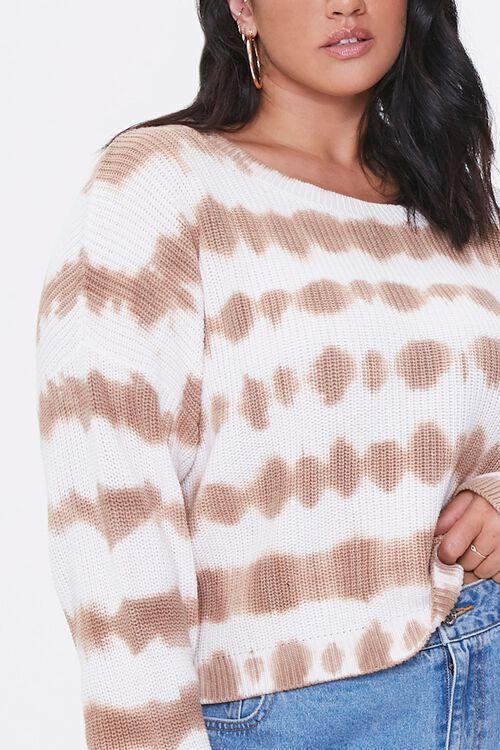 Plus Size Tie-Dye Sweater, image 5