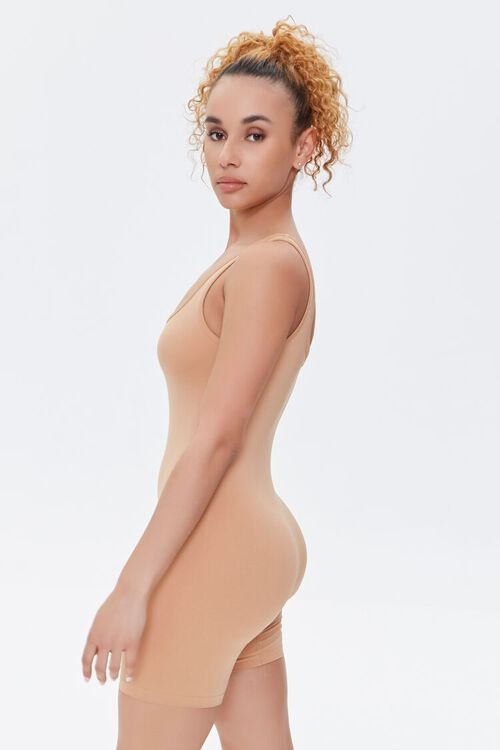 Fitted Square-Neck Romper, image 2