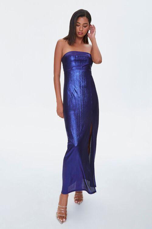 Metallic Maxi Dress, image 1
