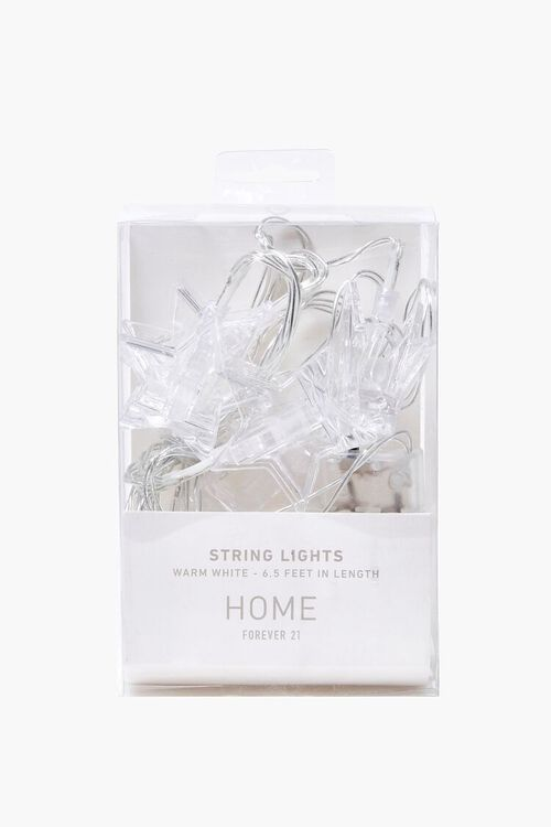 CLEAR Star Pendant String Lights, image 3
